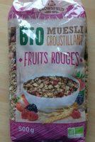 Muesli croustillant fruits rouges - Produit