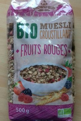 Muesli Croustillant Fruits Rouges - Produit