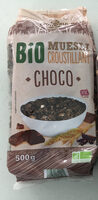 Bio muesli croustillant - Produit - fr