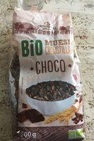 Crunchy muesli chocolate - Product - fr