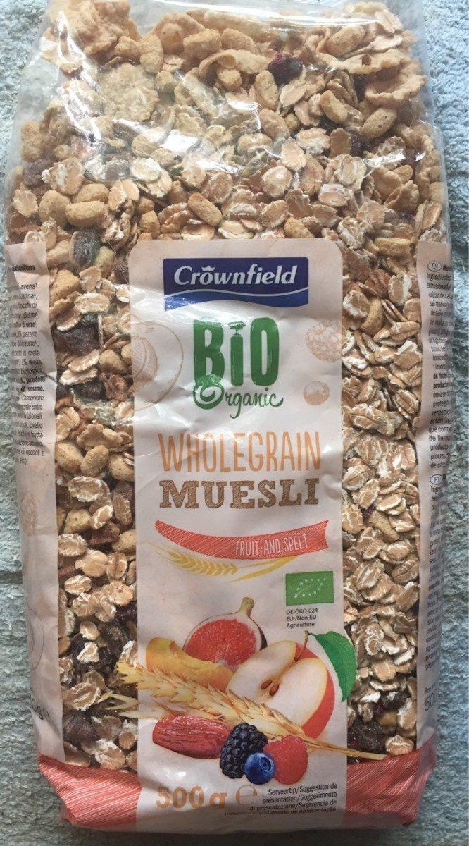 Bio Muesli Fruits - Producto