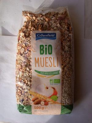 Muesli fruits et noix croustillant Bio - Product