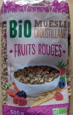 Muesli Fruits rouges - Product - fr