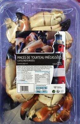 Pinces de Tourteau prélassées cuites pasteurisées - Product - fr