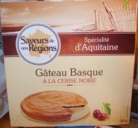 Gâteau Basque à la cerise noire - Product - fr