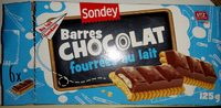 Barres CHOCOLAT fourrées au lait - Product