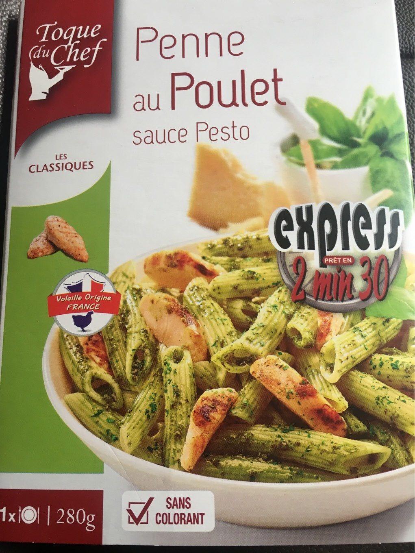 Penne au poulet sauce pesto - Product