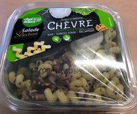 Salade serpentini Crudités Chèvre, noix et tomate - Product