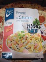 Penne au Saumon créme d'épinards - Product