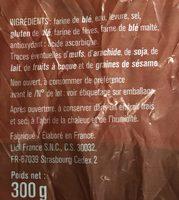 Faluches - Ingrédients - fr