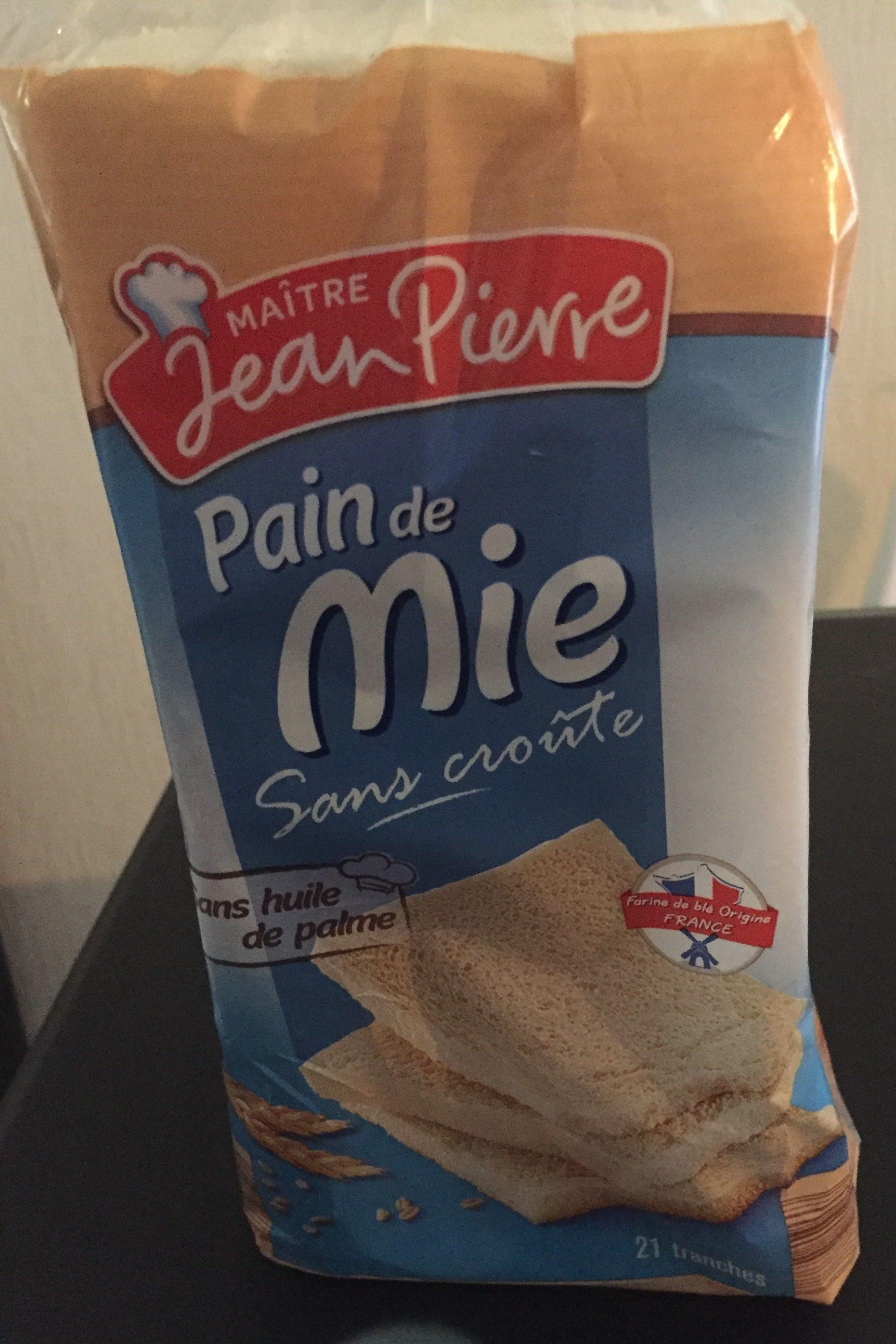Pain de mie sans croûte - Product - fr