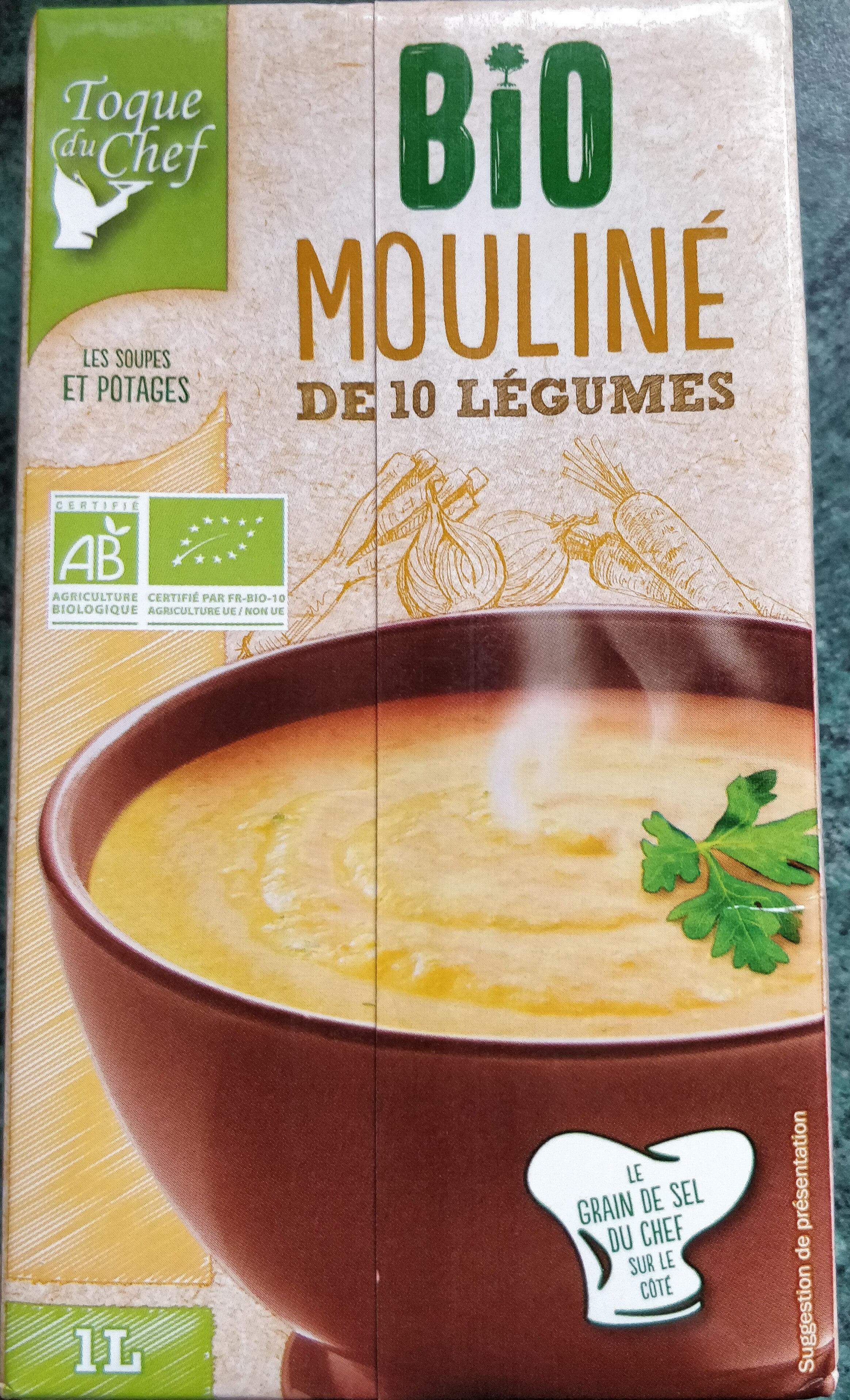 Bio mouliné de 10 légumes - Produit