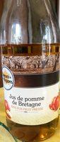 Jus de pomme de Bretagne - Produit