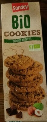 Cookies chocolat noisette - Product - fr