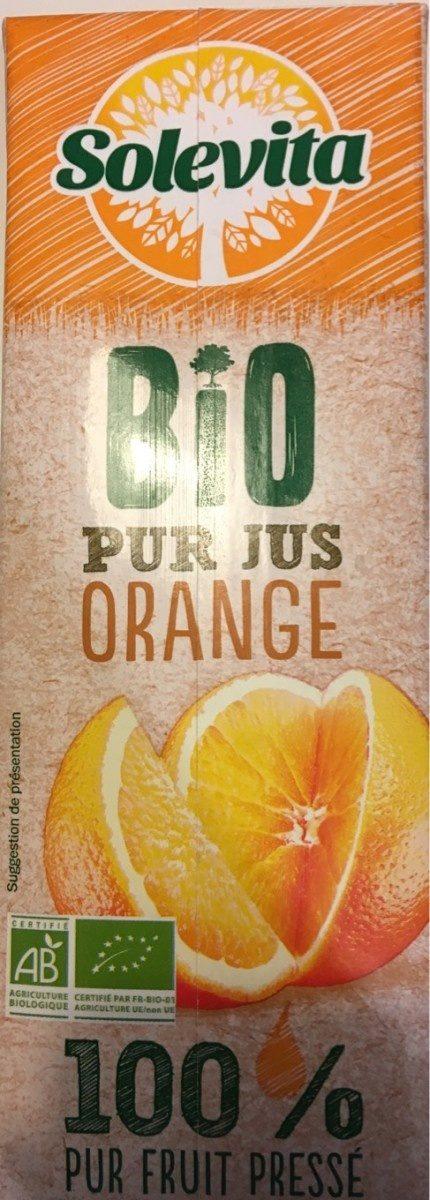 Solevita bio pur jus d'orange - Produit