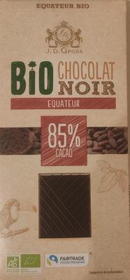 Chocolat noir Equateur 85% cacao - Product - fr