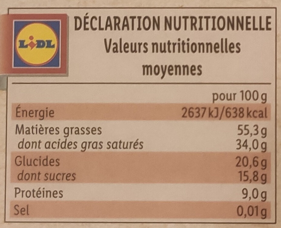 Bio Chocolat Noir Equateur 85% cacao - Nutrition facts - fr