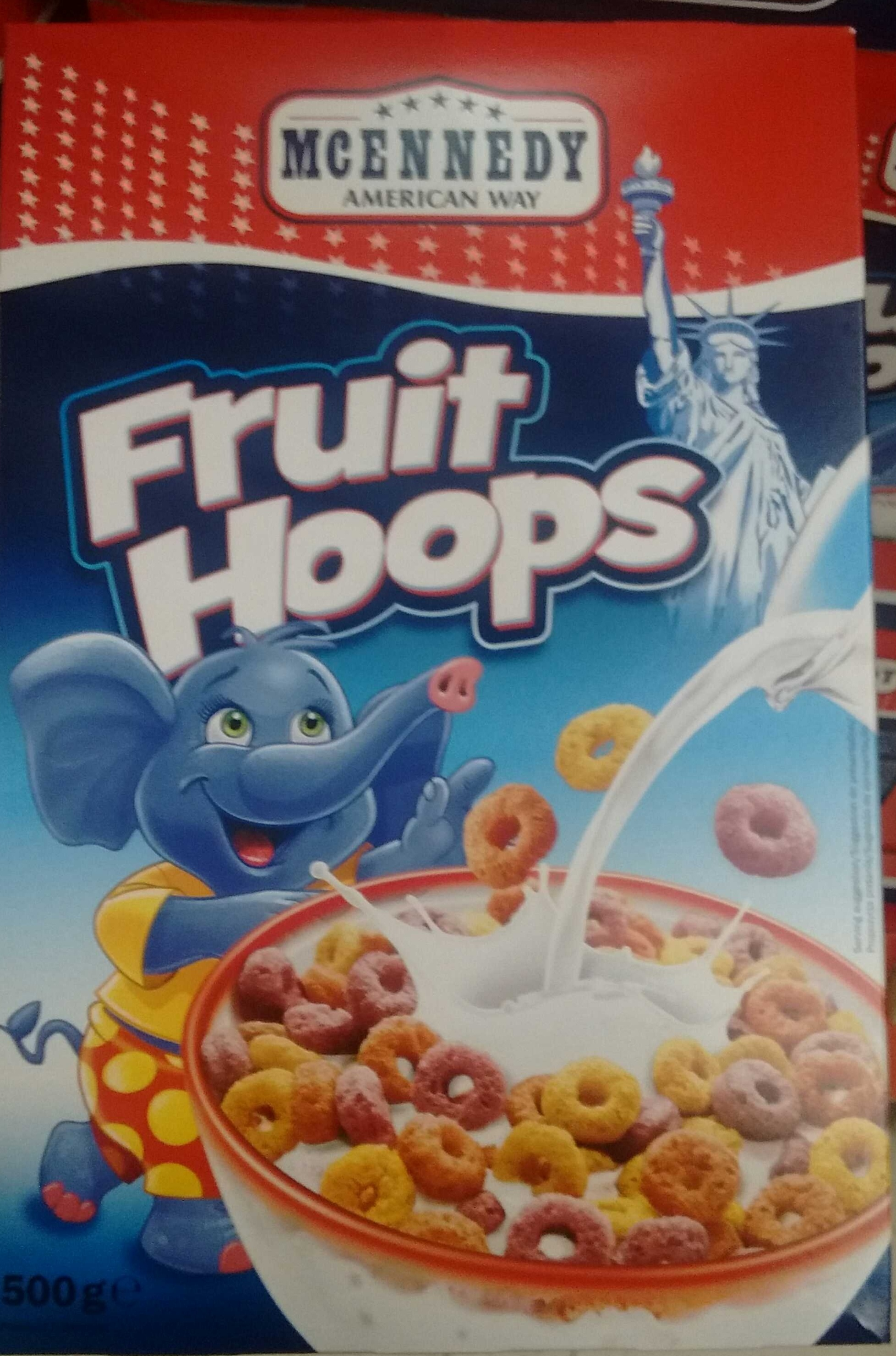 Fruit Hoops Mcennedy 500 G