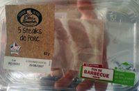 5 Steaks de Porc (Sélection Fan de Barbecue) - Product