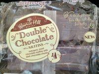 Double chocolate muffins - Produit - en