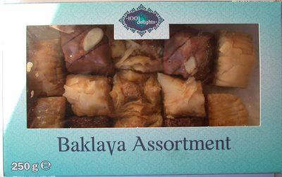 Baklava assortment - Produit - fr
