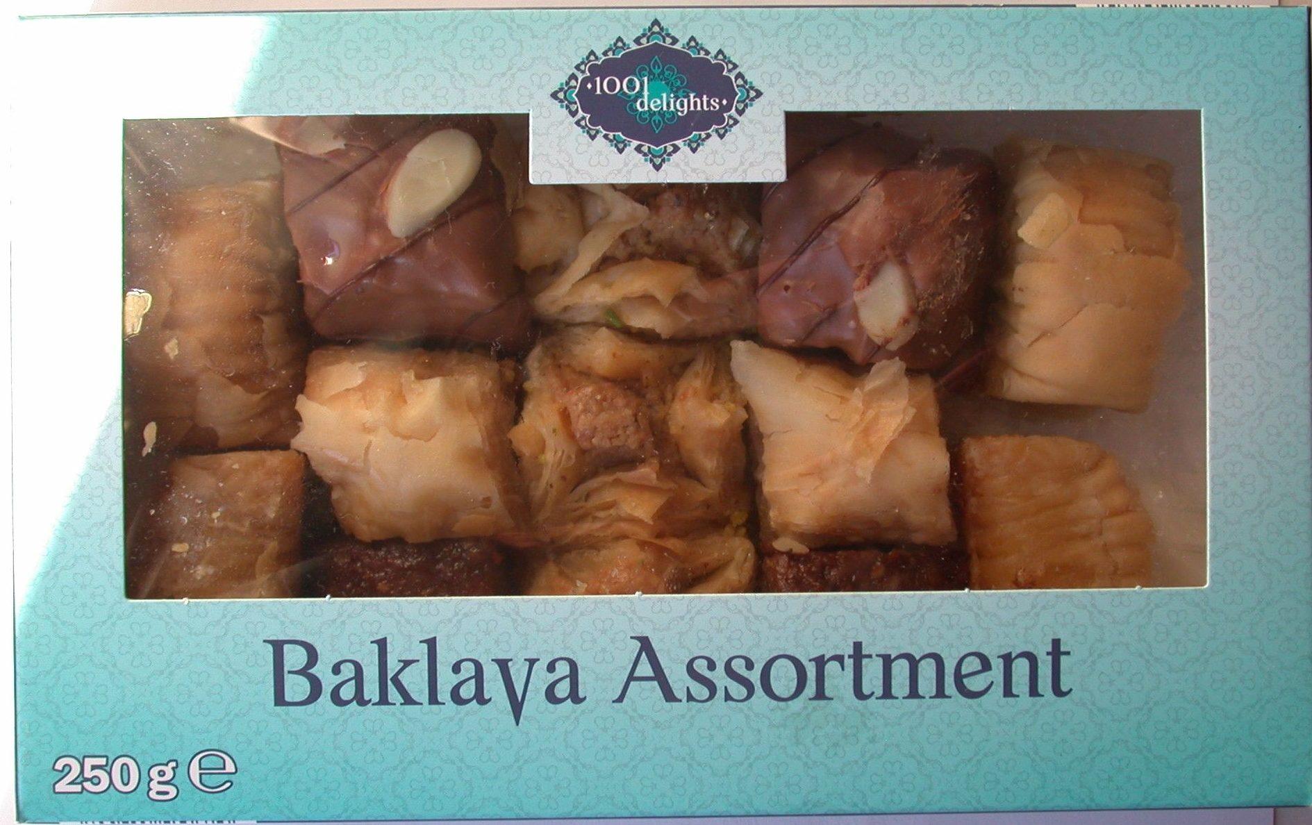 Baklava assortment - Product