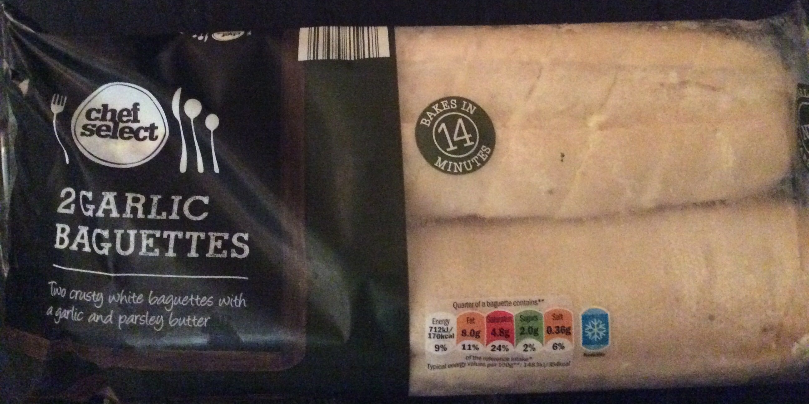 Garlic Baguettes - Product