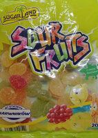 Sour Fruits - Kwaśne żelki o smaku owocowym. - Product - pl