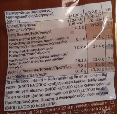 Cola - Ravintosisältö - fi