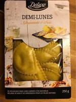 Gourmet Pasta Mezzelune, Ricotta-steinpilz-mascarp. .. - Product - fr