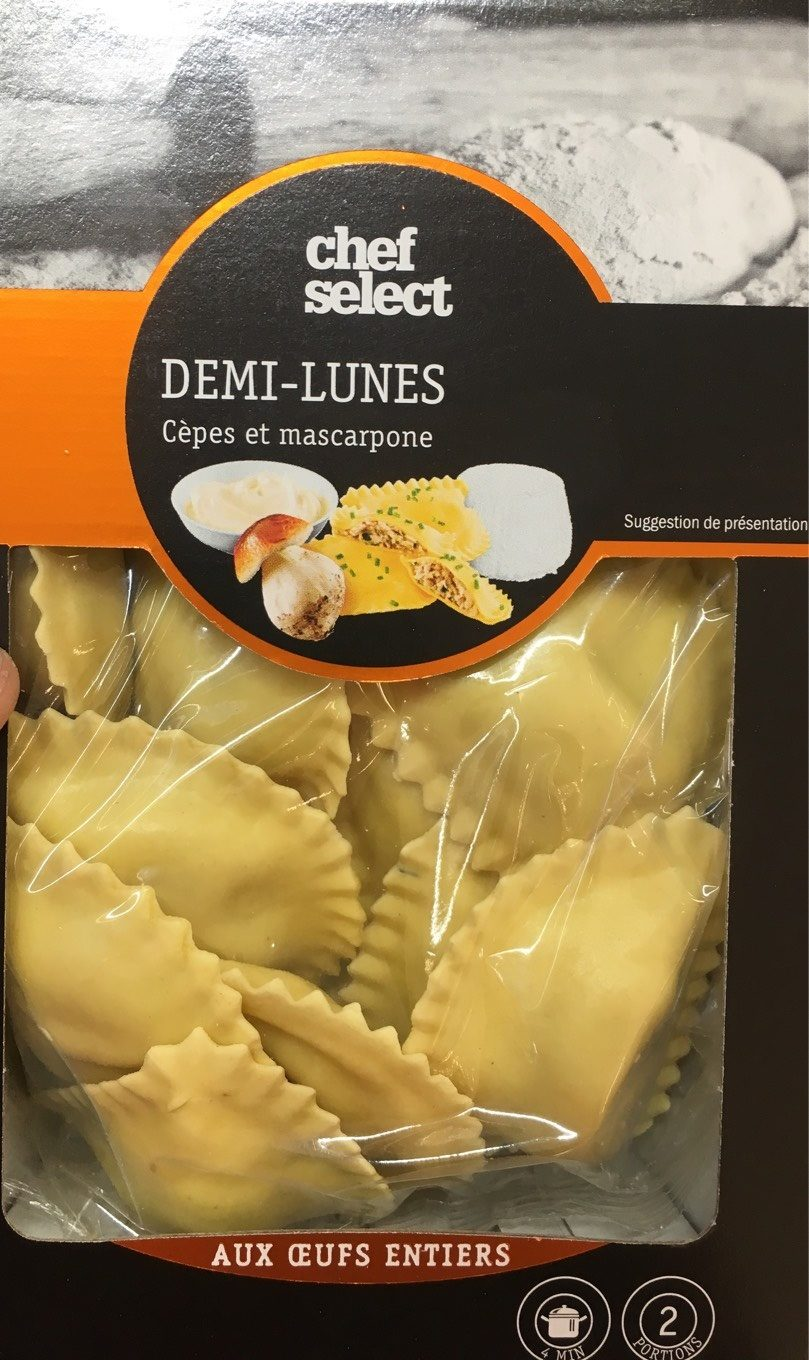 Demi lune cèpes - Product - fr