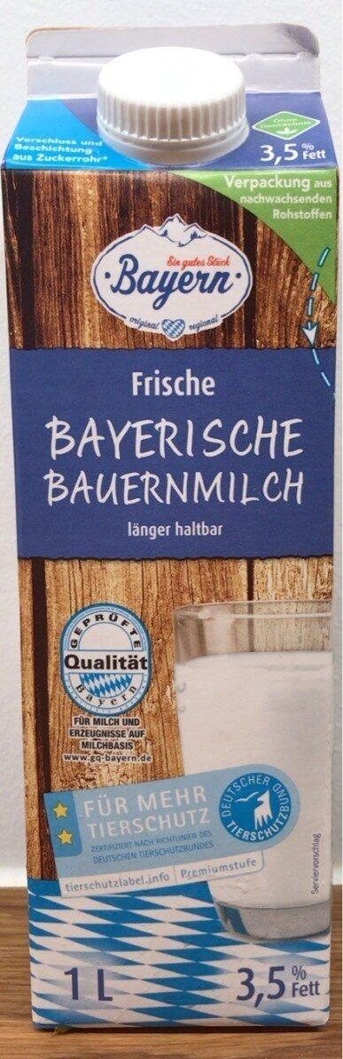 Bayrische Bauernmilch - Prodotto - de