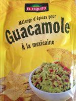 Melange pour Guacamole - Produit