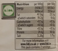 Spicy Hungarian Style Pork Sausage - Nutrition facts - en