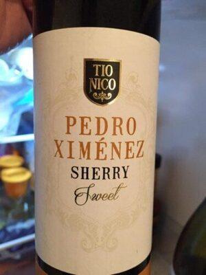 Pedro Ximénez sherry sweet