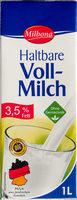 Haltbare Voll-Milch - Produkt