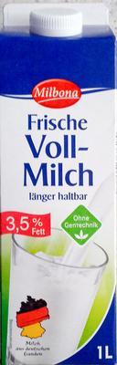 Frische Voll-Milch - Produkt
