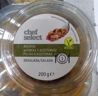 Ensalada de bulgur, alubias y aceitunas - Produit