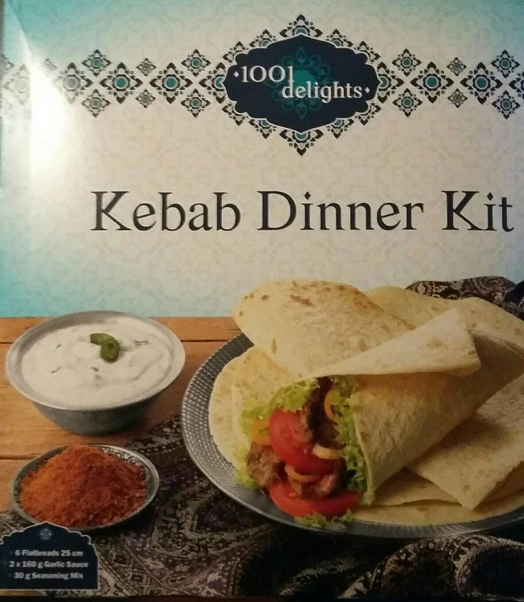 Kebab dinner kit - Product - fr