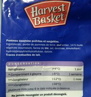 Pommes dauphine - Ingredients