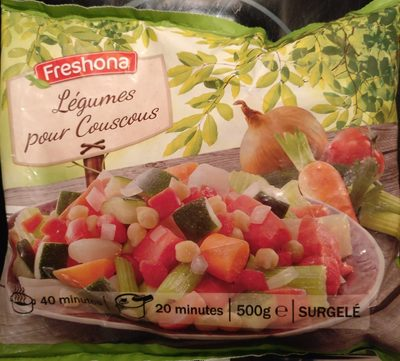 Légumes pour Couscous - Produit