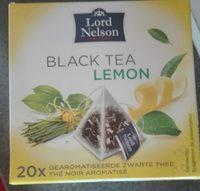 Black Tea Lemon - Product - fr