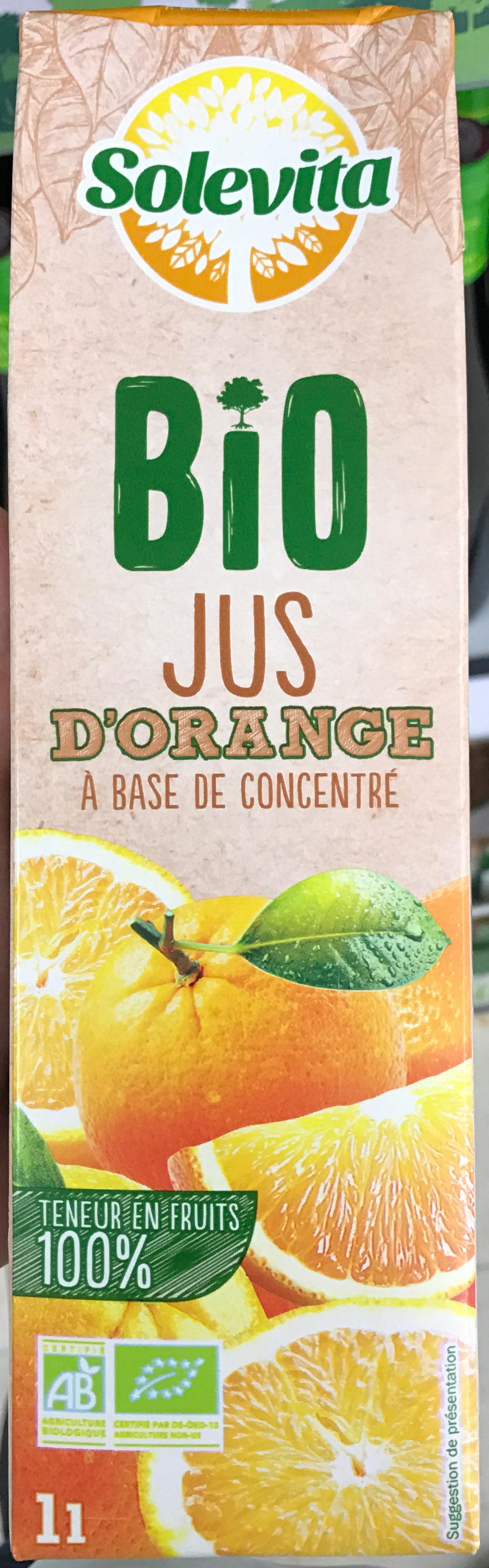 Jus d'orange bio - Product