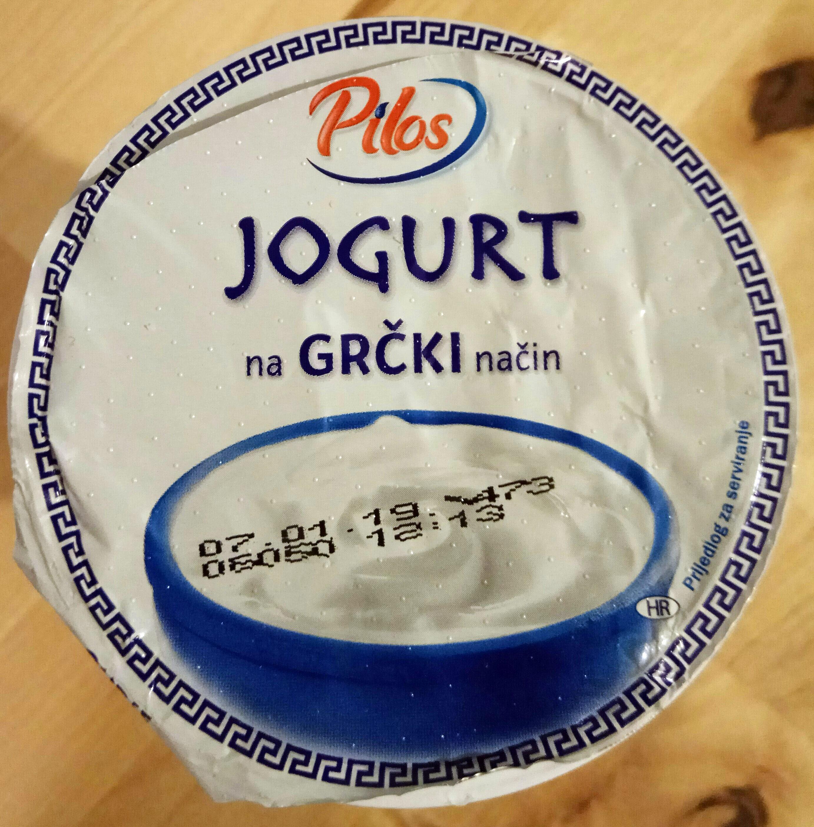 Jogurt na grčki način - Produktas - hr