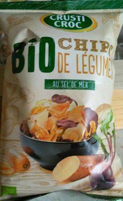 Chips de légumes au sel de mer - 3