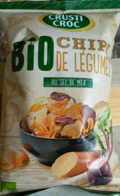 Chips de légumes au sel de mer - Produit