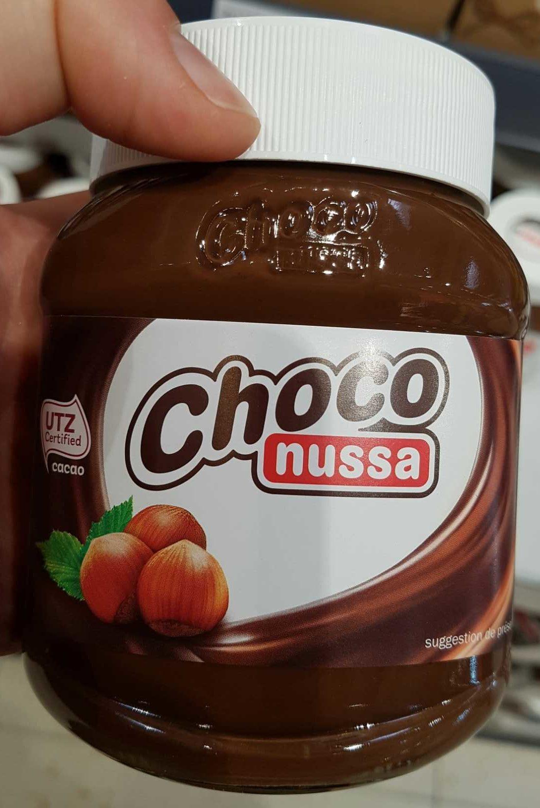 Choco - Pâte à tartiner aux noisettes et au cacao maigre - Prodotto - fr