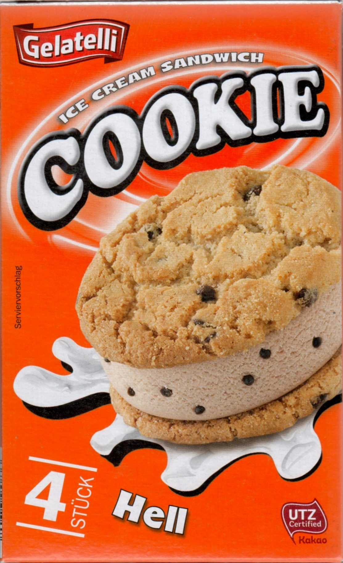 Ice cream sandwich cookie dark chocolate chips - Produkt - de