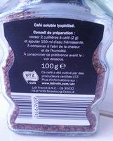 Bellarom Qualité filtre - Informations nutritionnelles - fr