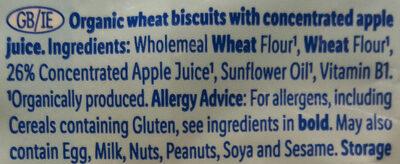 Apple biscuits - Ingredients - en